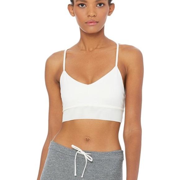 3b0f0f09dd ALO Yoga Other - alo yoga Lush Longline Sports Bra Pristine Glossy